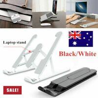 Adjustable Folding Aluminum Tablet Bracket Mount Desktop Laptop Stand Holder AU