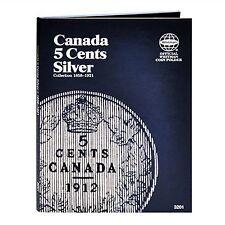 Whitman Coin Folder 3201 CANADA 5 Cents SILVER 1858-1921