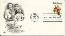 1972 Family Planning First Day Cover