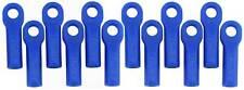 RPM Long Heavy Duty Traxxas Style Tie Rod Ends (12) # 80515 Blue Ball Links
