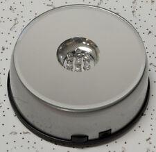7 LED RGB light illuminated rotary pedestal display stand laser crystal base US