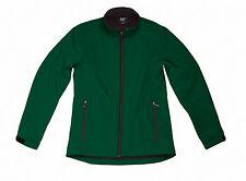 SG Men's Softshell Jacket 3 Layers Wind Water Resistant Warm Microfleece S-3xl Bottle Green L