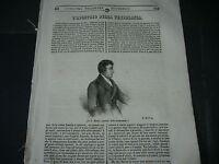 1844 PADRE MATTIA DI CORK COCCINIGLIA STORIA DI NAPOLEONE VIAGGIO MONTE CASSINO