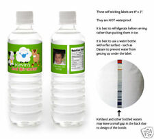 10 Barnyard Farm Animals Birthday Party Personalized Water Bottle Labels