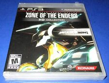 Zone of the Enders HD Collection Sony PlayStation 3 *Factory Sealed! *Free Ship!