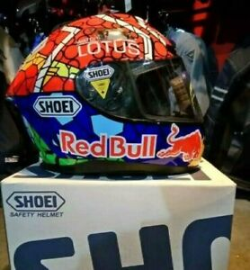 X12 Motorcycle Full Face Helmet Red Bull Marquez 93 Motorbike Racing Moto GP New