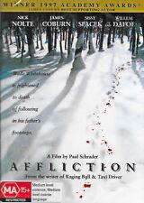 Affliction - Drama / Thriller - Nick Nolte, James Coburn, Sissy Spacek - NEW DVD