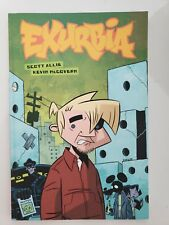 EXURBIA GRAPHIC NOVEL BOOK by SCOTT ALLIE & KEVIN McGOVERN 1ST PRINT