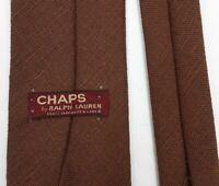 """CHAPS By RALPH LAUREN Retro NECKTIE Men's Classic 100% Linen Woven Tie 58"""""""