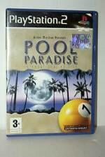 POOL PARADISE GIOCO USATO BUONO STATO SONY PS2 EDIZIONE ITALIANA AT3 43431