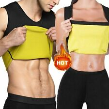 Women Men Sauna Sweat Slimming Vest Neoprene Cami Gym Yoga Thermal Body Shaper