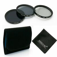 52mm Neutral Density filter Kits ND2 4 8 FILTER KIts For Nikon Canon Sony Pentax