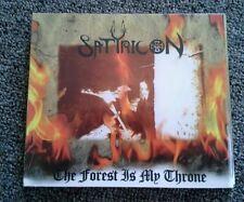 SATYRICON/ENSLAVED The Forest is My Throne/Yggdrasill 2006 US reissue split CD