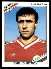 Panini Mexico 86 - Emil Dimitrov Bulgaria No. 61
