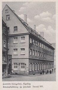 Ansichtskarte Bayern 8900 Augsburg Gaststätte Häringsbräu