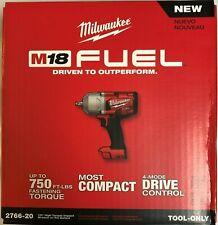 Milwaukee 2766-20 M18 1/2 alto esfuerzo de torsión impacto con Pin retén de nuevo en caja