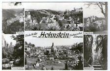 SW Ansichtskarte von Hohnstein Säschsiche Schweiz  (1051)