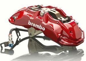NEW FG falcon 2 x red 6 pot brembo brake calipers FPV GT GTE GT-P F6 FGX XR8
