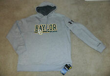 UNDER ARMOUR CHARGED COTTON STORM Baylor U. Bears Hooded Sweatshirt, XL~NWT $85
