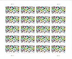 USPS Let's Celebrate Forever Stamps - Sheet of (20) Wedding, Birthday, Shower