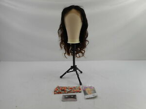 UNice Highlight Wavy T Part Lace Front Human Hair Wig with Baby Hair 20 inch