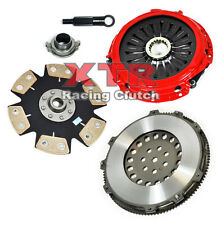 XTR STAGE 4 CLUTCH KIT+13 LBS RACE FLYWHEEL FOR LANCER EVO EVOLUTION 4 5 6 7 8 9