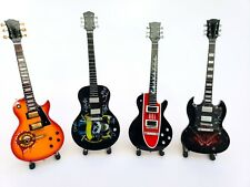 Miniature Guitar set SLASH Guns N' Roses. AXL ROSE. Mini Guitar set. Mini art