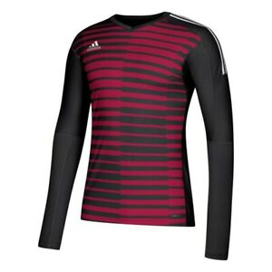 LA Galaxy MLS Adidas Men's Red AdiPro Long Sleeve Goalkeeper Jersey