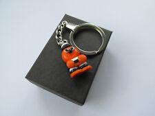 Handmade Miniature Tangy Orange Bertie Liquorice Allsorts Charm Keyring - Gift