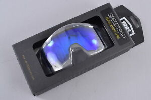 100% Speedtrap Replacement Lens Hiper Electric Blue Mirrored UV Protection