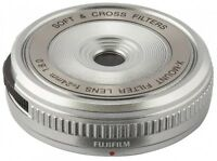 NEW FUJIFILM XM-FL S X Mount Filter Lens silver from JAPAN