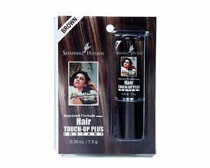 Shahnaz Husain Instant Hair Touch Up Brown Color 7.5 gm Free Ship