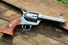 M1873 Colt .45 Peacemaker Revolver 1873 Texas Rangers Lone Star - Denix Replica