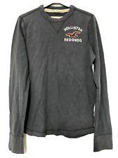 Hollister Long Sleeve Sweatshirt Mens Size Medium M Grey (C768)