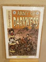 RARE ARMY OF DARKNESS  LITHO Print  NICK BRADSHAW Horror OOP 2005 NEW Ash 2 Ash