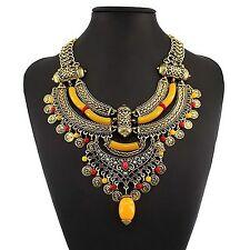 Beautiful Vintage Style Bohemian Choker Collar Bib Necklace Free Shipping