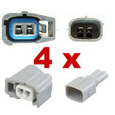 Pluggen injectoren - TOYOTA (4 x SET) connector plug verstuiver injectie fcc