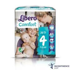 1x Libero Comfort 4 (7-11 kg) - Pack de 26-Childrens Langes