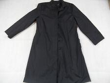 QS S.OLIVER schöner schmaler leichter Mantel schwarz Gr. 38 TOP GA18