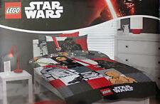 Licensed STAR WARS LEGO  SINGLE Duvet/Doona/Quilt Cover SET BNIP