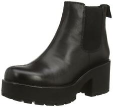 New Vagabond Dioon 4247-201 Womens Heels Black Leather Chelsea Boots Size 4-8