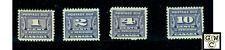 Canada Post Due J11, J12, J13, J14, All VF M.L.H Stamps Catalog value $115