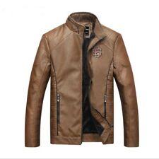 2017 Jacket Men's Locomotive Leather Jacket Leisure Leather Short coat