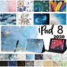 "for Apple iPad 2020 8 8th Generation 10.2"" Leather Flip Smart Case Stand Cover"