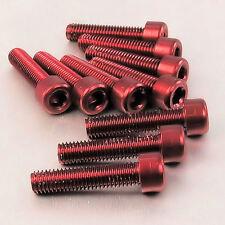 Fraisés CSK Socket Clé Allen Vis Boulons M3* 7//10mm DIN 7991 Aluminium Anodisé