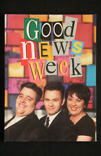 Ian Simmons (editor) - Good News Week from tv show signed by paul mikey & julie
