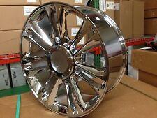 4 New 22x9 OE Platinum Cadillac Escalade Wheels Chrome Factory Replica