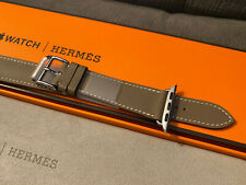 Apple Watch Hermes Etoupe 40MM Double Tour Leather