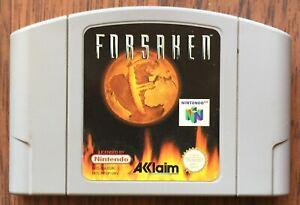 Forsaken Nintendo 64 N64