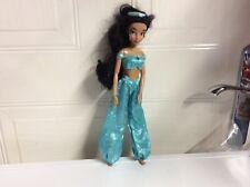 "Disney Jasmine 11"" Doll Disney Store Toy Aladdin No Shoes Classic Princess"